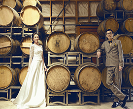 Wedding in Auckland Winery
