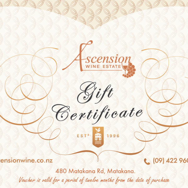 Gift Certificate Ascension 2017.2018-01