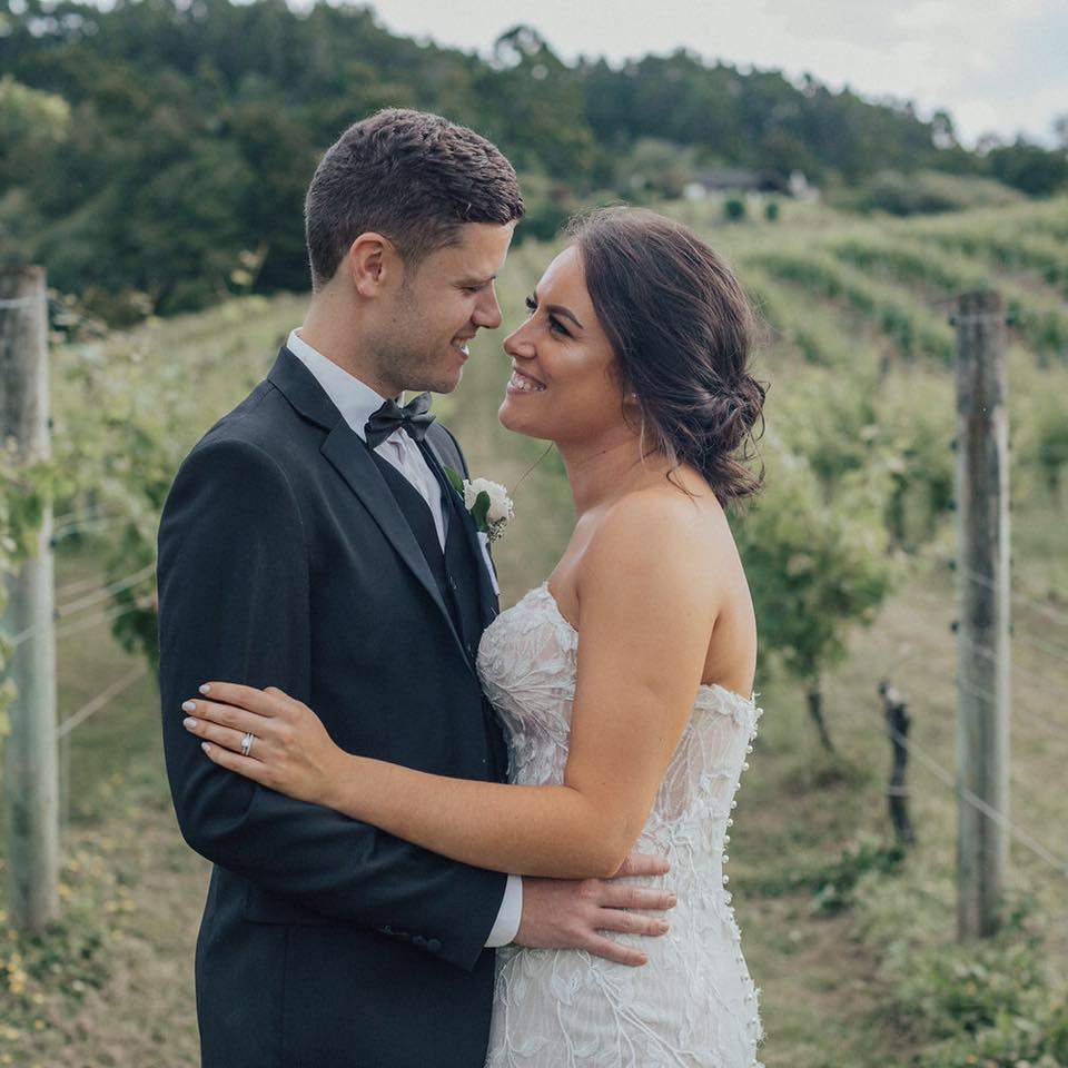 Hoana&Fraser in Vineyard
