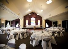 chair covers with sash in belfry